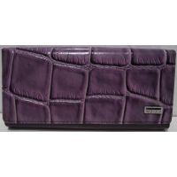 Женский комбинированный кошелёк (фиолетовый) 19-02-005