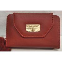 Женский небольшой кошелёк (красный) 20-01-039