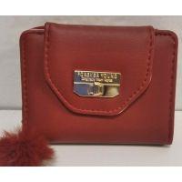 Женский небольшой кошелёк (красный) 20-01-056