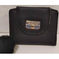 Женский небольшой кошелёк (чёрный) 20-01-056