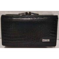 Женский кожаный кошелёк Balisa (чёрный) 20-01-057