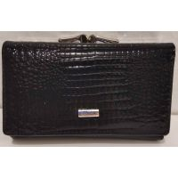 Женский кожаный кошелёк Balisa (чёрный) 20-01-058