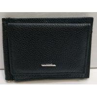 Мужской кожаный зажим Balisa (чёрный) 20-12-054