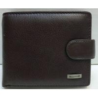Мужской кожаный кошелёк Tailian ( тёмно коричневый) 20-12-057
