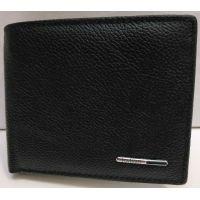 Мужской кожаный кошелёк Tailian (чёрный) 20-12-066