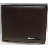 Мужской кожаный кошелёк Tailian (тёмно коричневый) 20-12-067