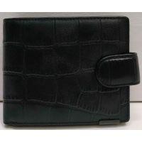 Мужской кожаный кошелёк Bretton (чёрный) 21-03-001