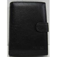 Мужской кожаный кошелёк Monike (чёрный) 18-05-031
