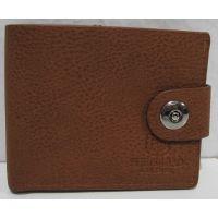 Мужской раскладной кошелёк на кнопке-магните (рыжий-3) 18-10-073
