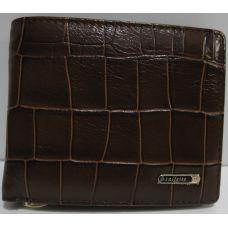 Мужской кожаный кошелёк с зажимом Salfeite (коричневый) 19-03-006