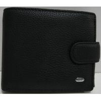 Мужской кожаный кошелёк Sergio Torretti (чёрный) 19-03-009