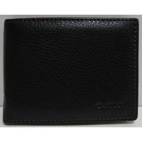 Мужской кожаный кошелёк-зажим Cantlor (чёрный) 19-03-016