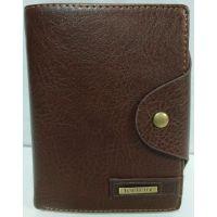 Мужской раскладной кошелёк Baellerry (коричневый) 19-10-058