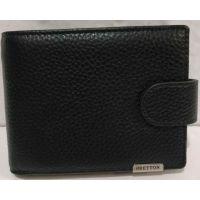 Мужской кожаный кошелёк Bretton (чёрный) 20-01-077