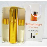 Мужской пафюмерный набор с феромонами Clinigue Happy For Men (3х15 мл) 18-06-245
