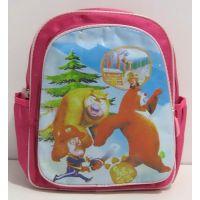 """Детский рюкзак для девочки """"Медведи"""" (розовый) 16-11-019"""