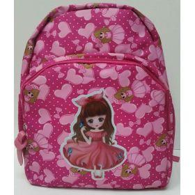 Детский рюкзак для девочки (малиновый) 19-05-172