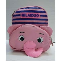 """Детский  тканевый рюкзак """"Слоник""""  (розовый) 21-05-033"""