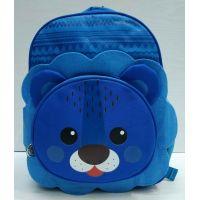 Детский  тканевый рюкзак (голубой)  21-05-035