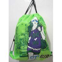 Рюкзак для обуви Citi girl (салатовый) 16-09-009