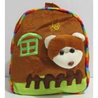 """Детский рюкзак """"Зверята в домике"""" (мишка) 16-12-005"""