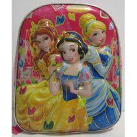 Детский рюкзак для девочки с рисунком 3D (Принцессы Диснея) 17-5-054