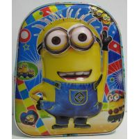 Детский рюкзак для мальчиков с рисунком 3D (Миньон) 17-5-055