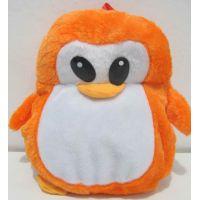 """Детский плюшевый рюкзачок  """"Пингвин"""" 17-8-029"""