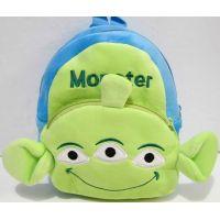 Детский плюшевый рюкзачок (Монстер-зелёный) 18-10-088