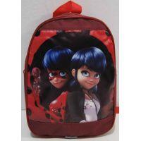 Детский тканевый рюкзак (бордовый) 18-11-026