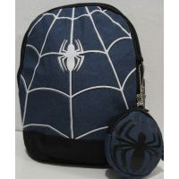 "Детский  рюкзак ""Спайдермен"" ( тёмно синий) 18-11-037"