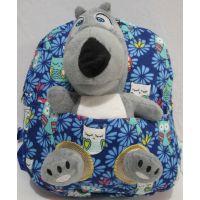 Детский  рюкзак с игрушкой  18-11-040