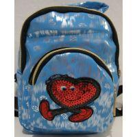 Детский небольшой перламутровый рюкзачок (голубой) 18-12-220