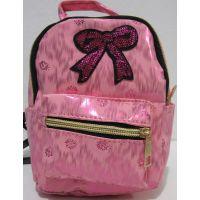 Детский небольшой перламутровый рюкзачок (розовый) 18-12-220