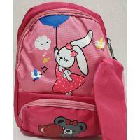Детский рюкзачок с пеналом (розовый) 19-08-023