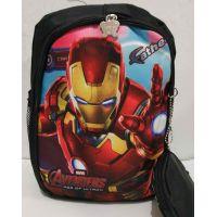 Детский рюкзак для мальчика с кошельком (чёрный) 19-08-031