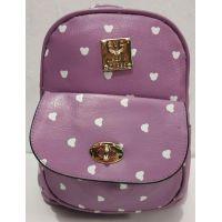 Стильный небольшой рюкзак (сиреневый) 19-08-032