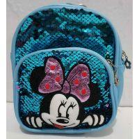 Детский небольшой рюкзак-сумка (голубой)19-09-024