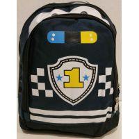 "Детский рюкзак-сумка ""Машина"" (тёмно синий )19-09-030"