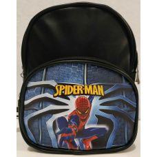 """Детский рюкзак для мальчика """"Мультгерои"""" (чёрный-Спайдермен) 20-01-029"""