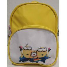 """Детский рюкзак для мальчика """"Мультгерои"""" (жёлтый-Миньоны) 20-01-029"""