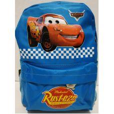 """Детский тканевый рюкзак для мальчика """"Тачка"""" (голубой) 20-01-030"""