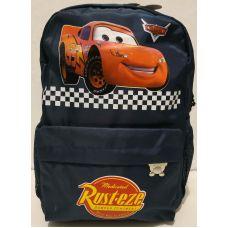 """Детский тканевый рюкзак для мальчика """"Тачка"""" (тёмно-синий) 20-01-030"""