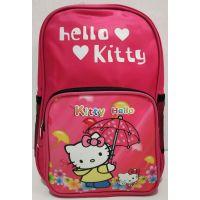 """Детский тканевый рюкзак """"Мультгерои"""" (малиновый-Hello Kitty) 20-01-032"""