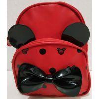 Детский рюкзак для девочки Минни (красный) 20-01-033