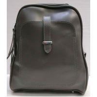 Женский городской рюкзак-сумка (серый) 21-02-002
