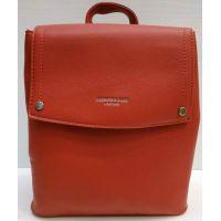 Женский городcкой рюкзак  (красный)  21-02-035