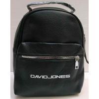Женский городcкой рюкзак   (чёрный)  21-02-038