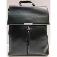Женский кожаный рюкзак-сумка Alex Rai (чёрный) 21-03-038
