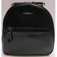 Женский кожаный рюкзак Alex Rai (чёрный) 21-03-039